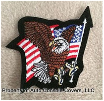 USA Screaming Eagle Patch (Patch Only)
