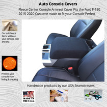 Buy Fleece Center Console Armrest Cover fits the Ford F-150 2015-2020