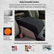 Buy Neoprene Center Console Armrest Cover fits the Ford F-150 2015-2020