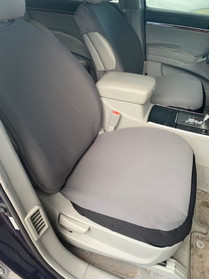 Bottom Only Seat Covers for a Hyundai Vera Cruz 2008-2013-(Pair) Neoprene Material