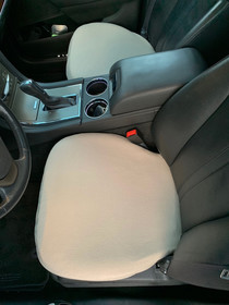Fleece Bottom Seat Cover for Land Rover Discover 2001 (PAIR)