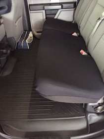 Rear Split Bench Seat (Bottom only covers) - Neoprene Material